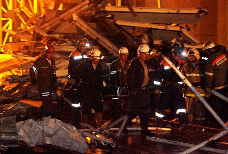 Катастрофа на Саяно-Шушенской ГЭС (32 фото)
