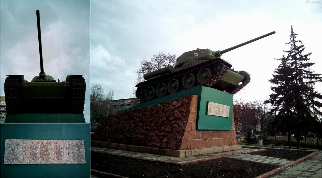 Т-34-85 Мариуполь Шашлов Иван T-34-85 Mariupol Ivan Shashlov