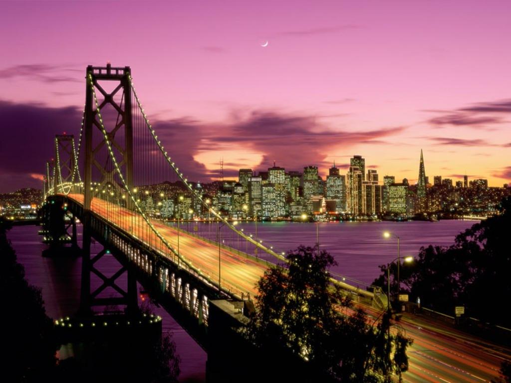 5. Мост Золотые Ворота Калифорния, США Гигантский подвесной мост Золотые Ворота через пролив, открыв