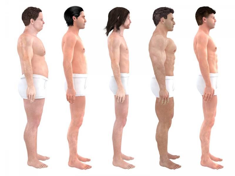 Для обоих полов идеалом стали стройные и мускулистые тела. Так что, в отличие от 1870-х годов, пивно