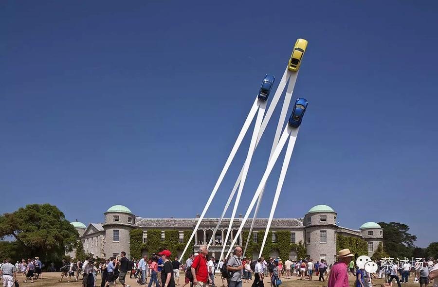 Выставка «Порше», Великобритания.