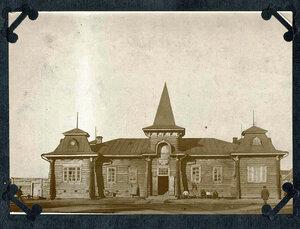 Александровская каторжная тюрьма. Здание тюрьмы