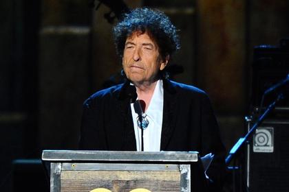 Солист Боб Дилан прокомментировал присуждение ему нобелевской премии