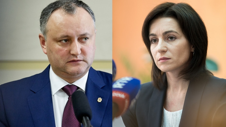 После обработки 99% голосов Додон набирает 48,66% — ЦИК Молдавии