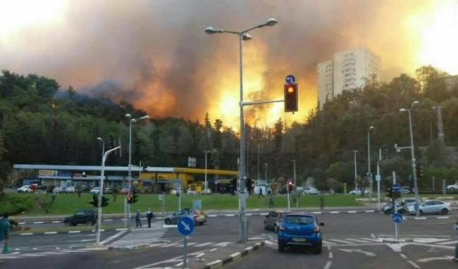 Пожары вИзраиле: Осталось два основных источника возгорания