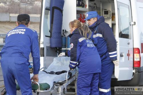 Центр медицины катастроф Волгоградской области вошел втройку наилучших по Российской Федерации
