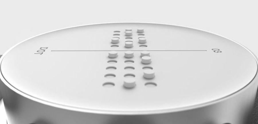 World's First Braille Smartwatch