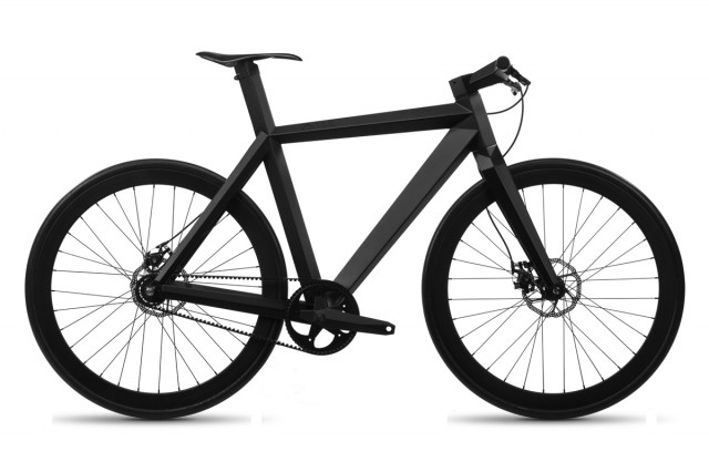 Wholly Black Bicycle