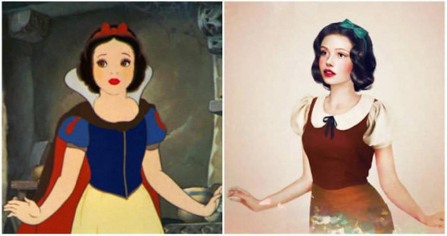 Disney Princesses in Real Life