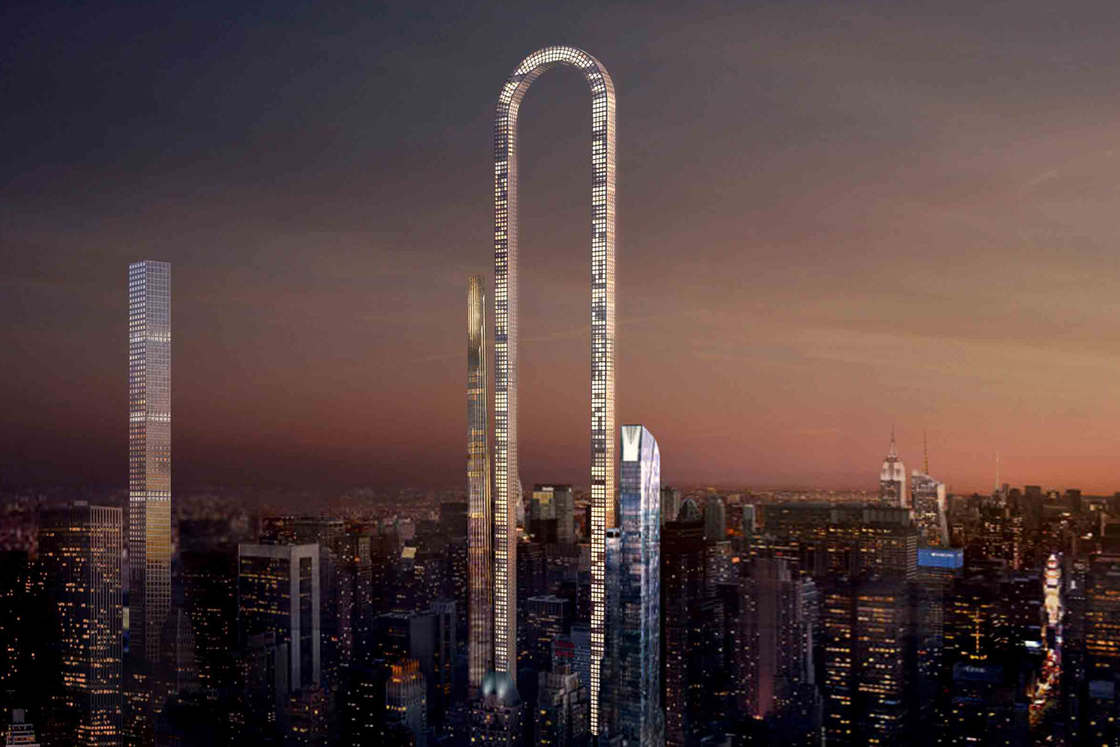 An impressive project to build the tallest skyscraper of New York