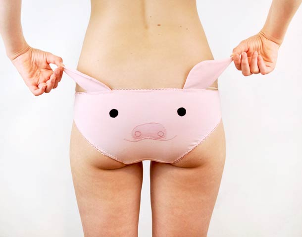 Knickerocker - Cute panties with animal ears