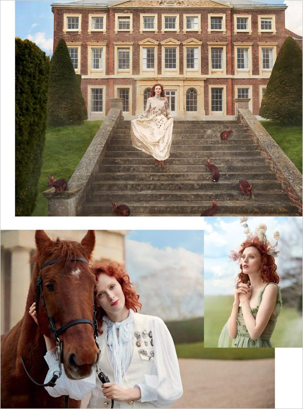 Karen Elson is the Cover Star of British Harper's Bazaar June 2017 Issue