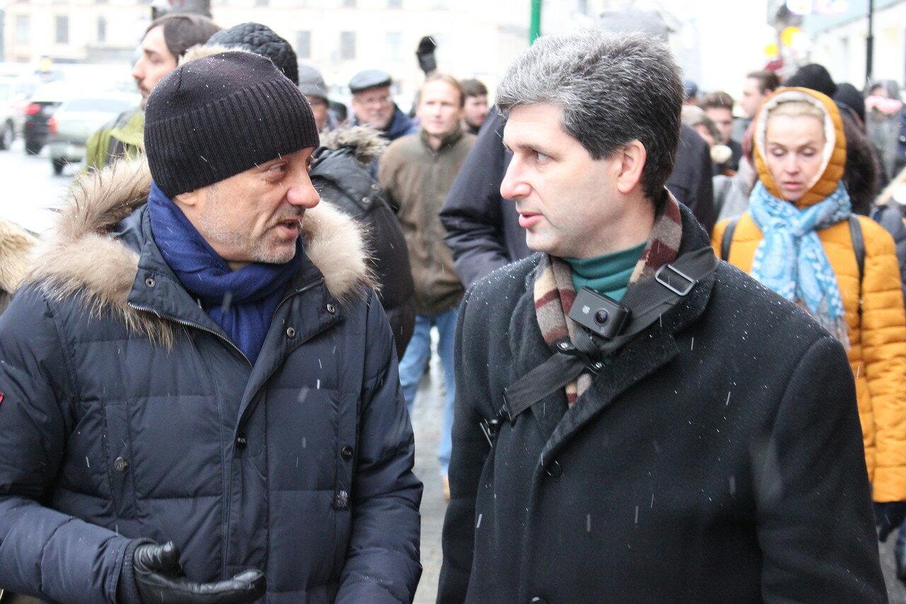 Александр Подрабинек и Марк Гальперин
