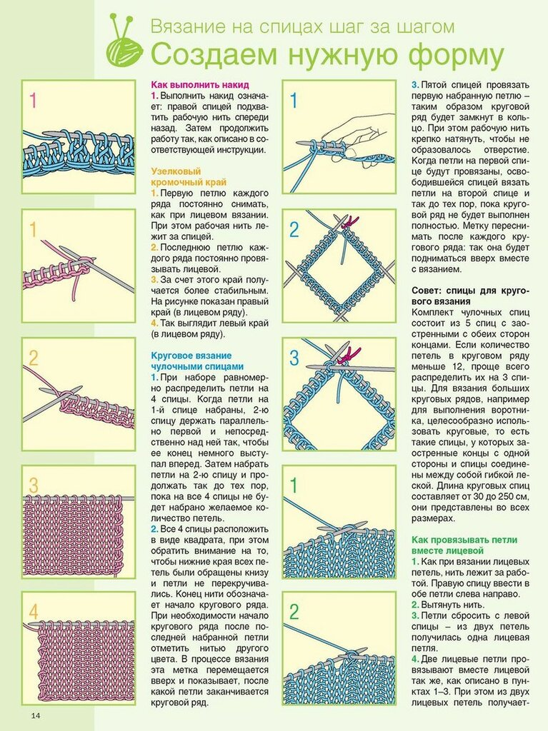 Вязание на спицах 2 21