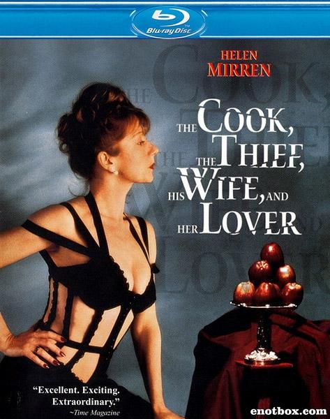 Повар, вор, его жена и её любовник / The Cook, the Thief, His Wife & Her Lover (1989/BDRip/HDRip)