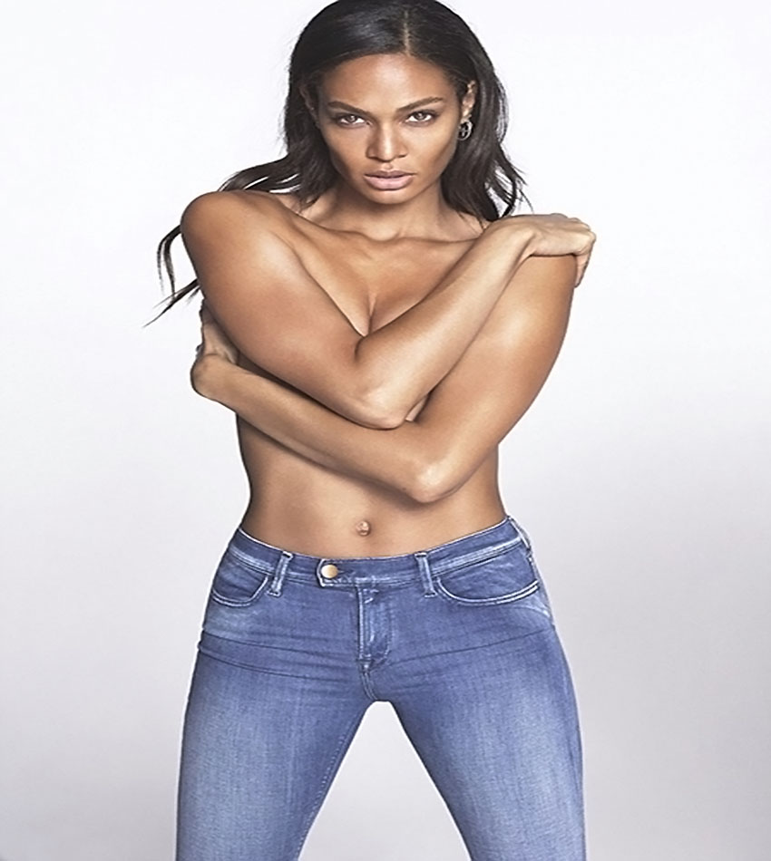 Irina Shayk, Stella Maxwell and Joan Smalls for Replay Jeans Touch Campaign