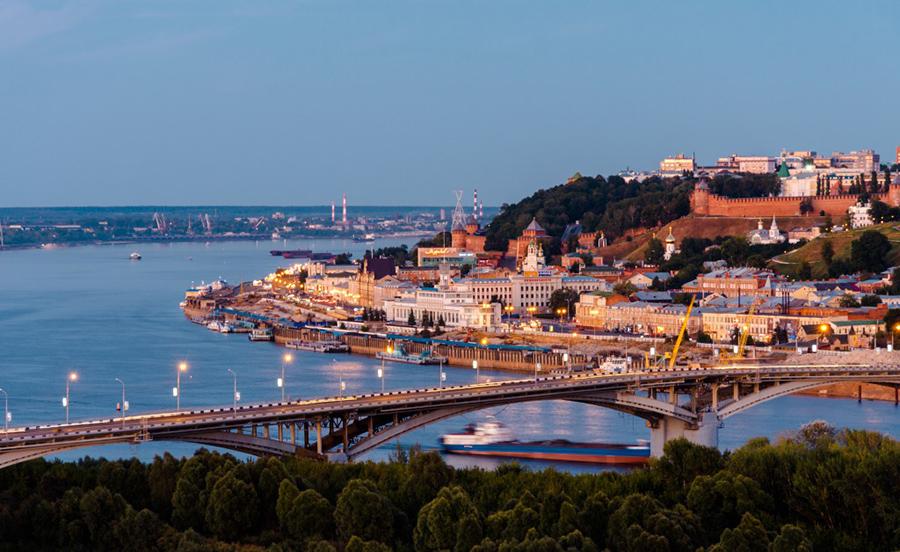 UBER в Нижнем Новгороде