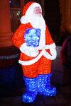 Светящийся Дед Мороз