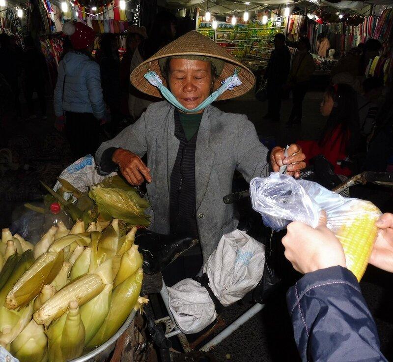 Продавец кукурузы