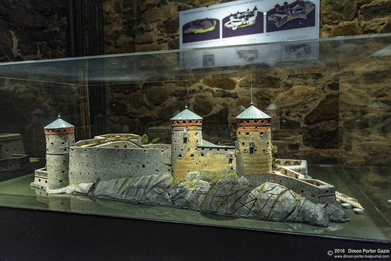 Савонлинна. Крепость Олавинлинна
