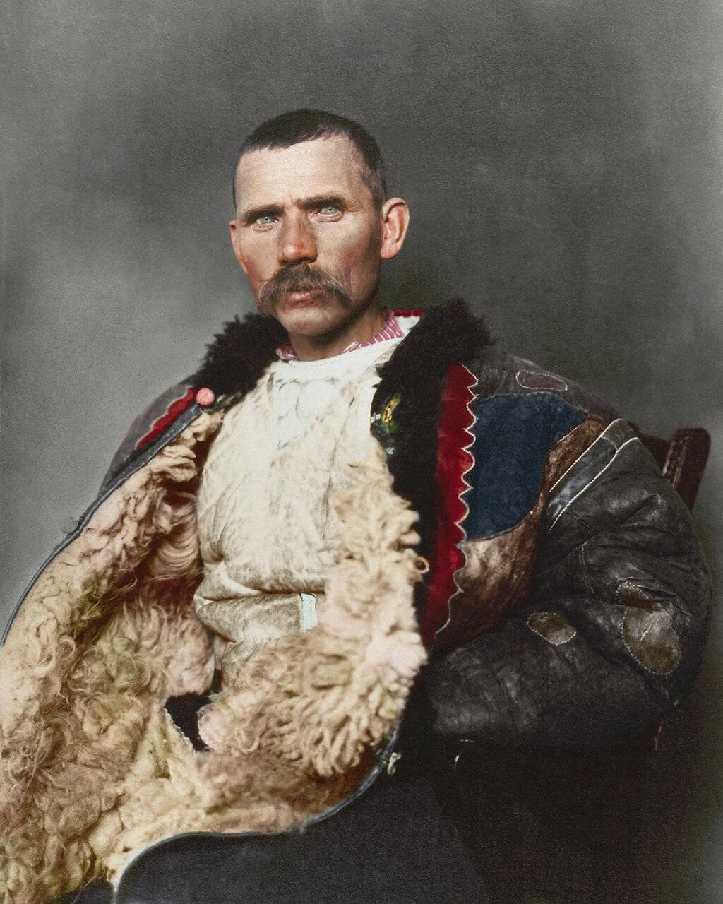 Румынский пастух. 1906