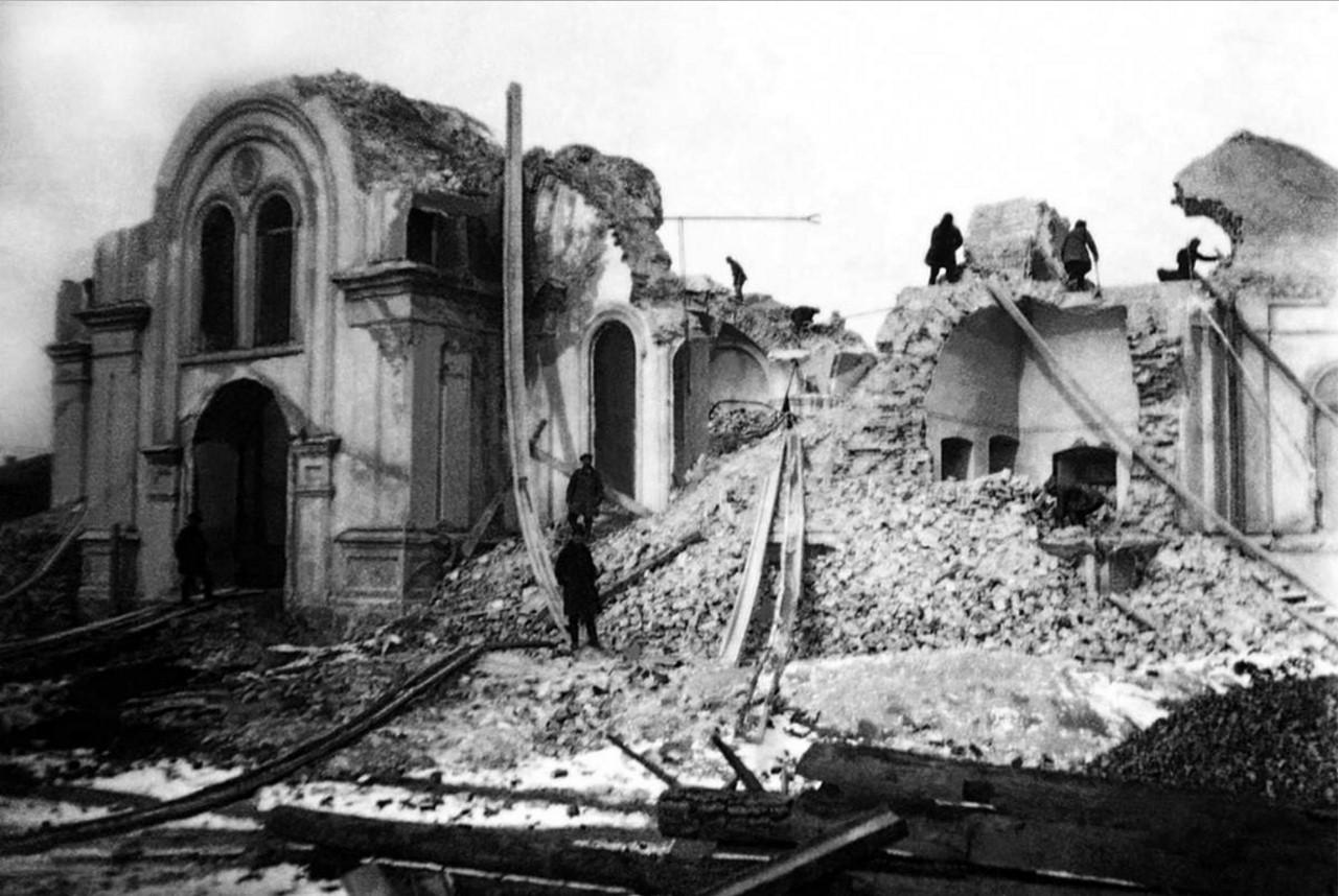1926. Челябинск. Снос зданий Одигитриевского монастыря