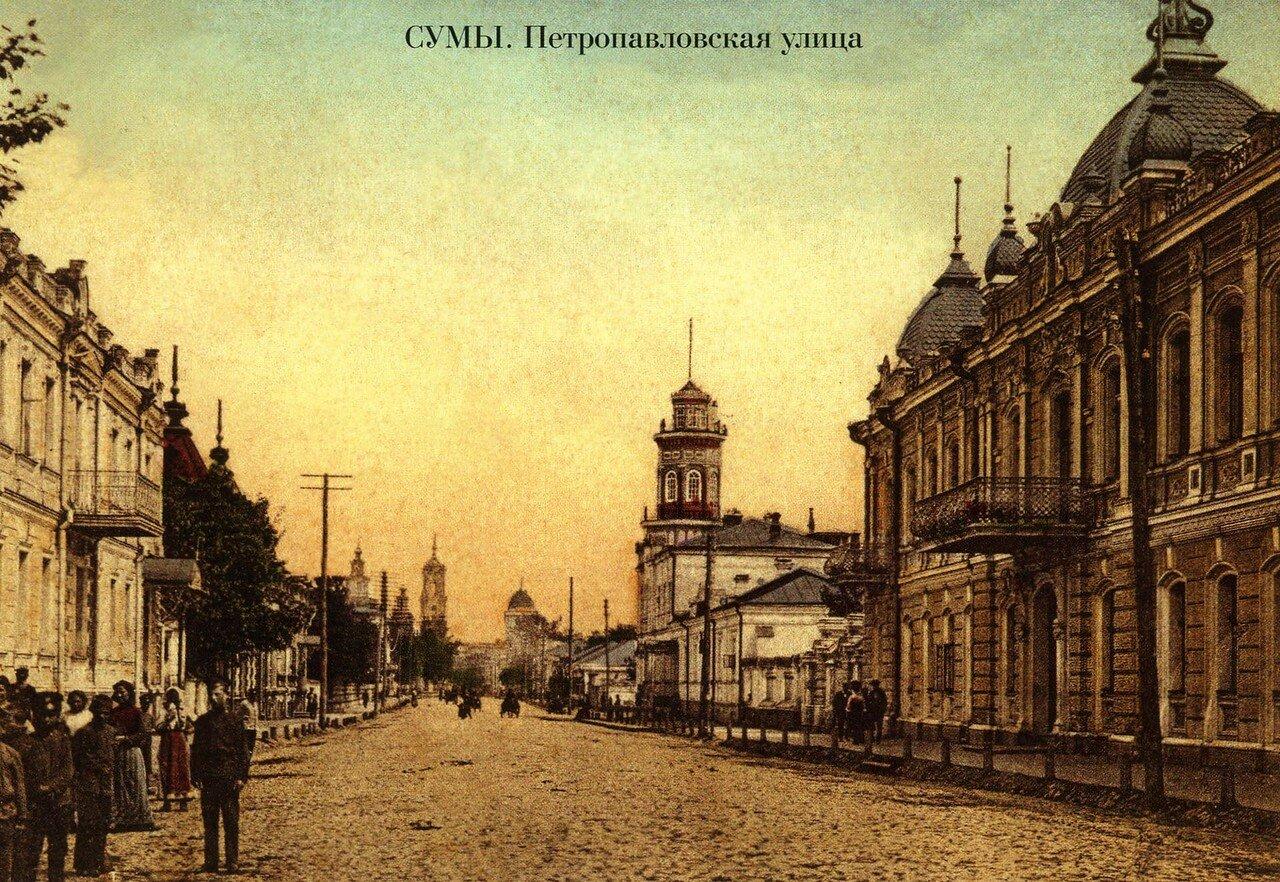 Улица Петропавловская