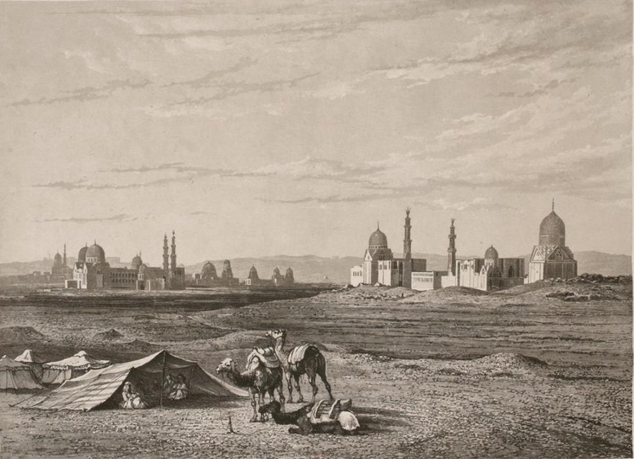 Египет. Гиза. Долина пирамид