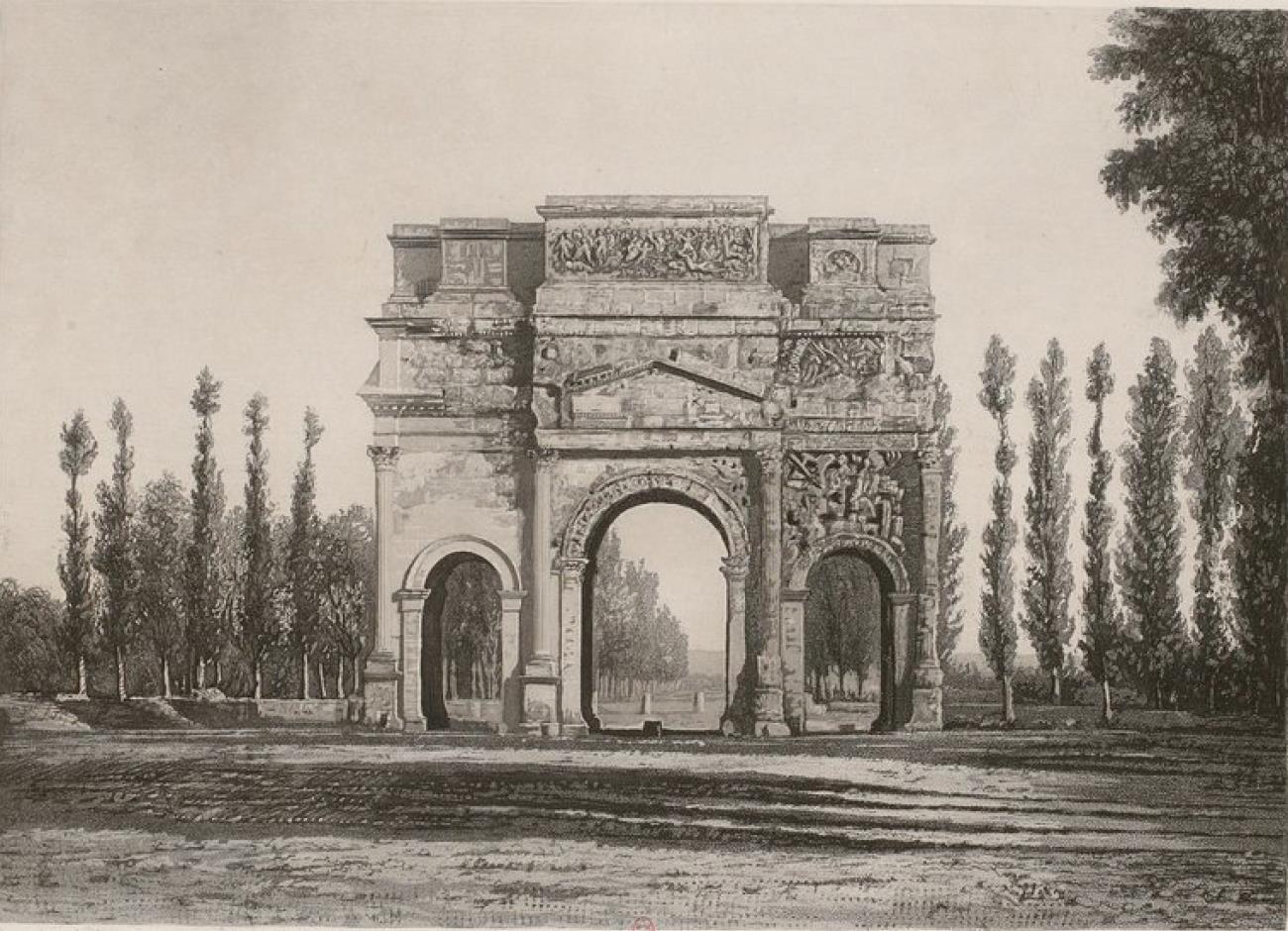 Франция. Оранж. Триумфальная арка