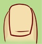 Форма ногтя о характере