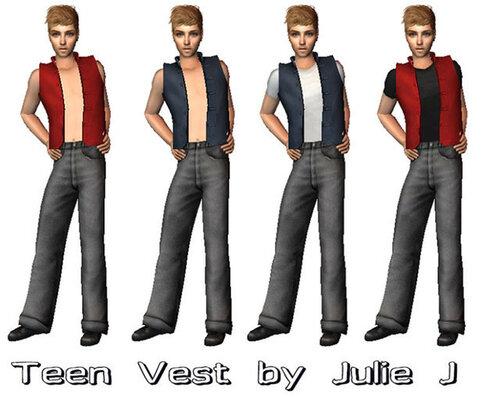 Teen Vest TOP MESH – By Julie J