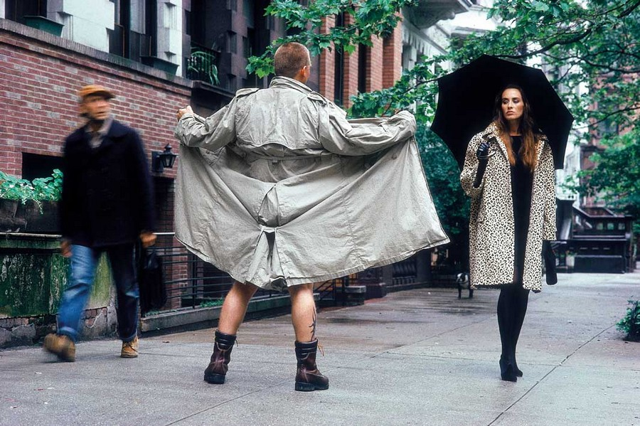New York City, 1989 Fashion shoot