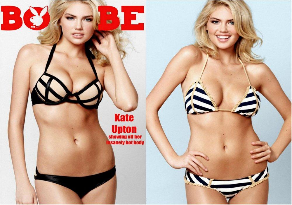 Кейт Аптон в журнале Boysbe