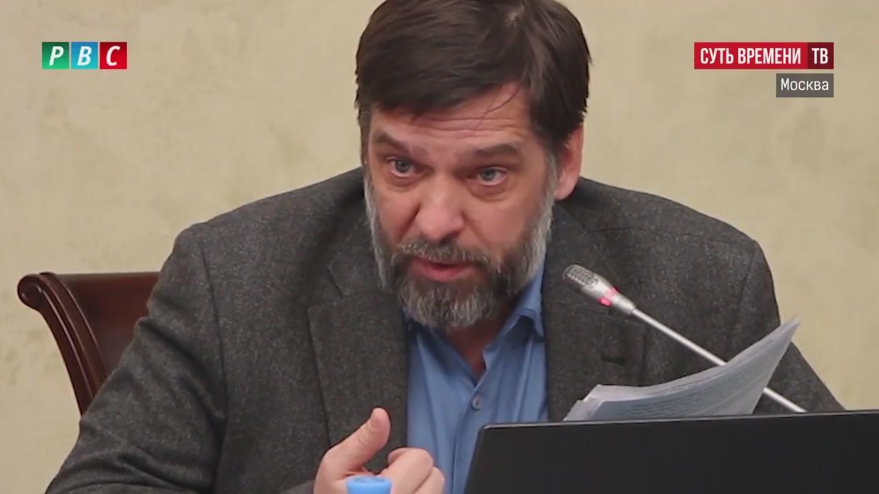 Александр Коваленин 27 февраля 2017 на слушаниях в Общественной палате РФ