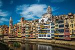 Сиеста в Жироне (Испания, Каталония)
