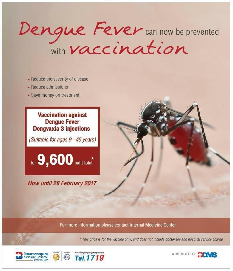 Прививка от денге