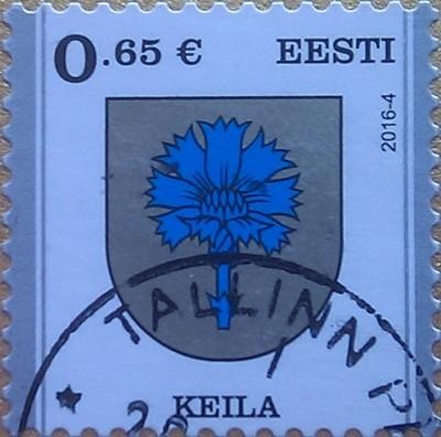 эстония 2016 василек 0.65