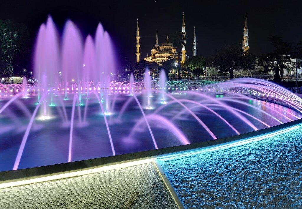 Ночной Стамбул в HDR