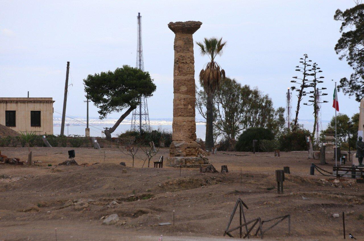 Джела. Греческий Акрополь (L'Acropoli di Gela)