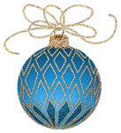 Christmas_Blue_and_Gold_Ornament_Clipart.png