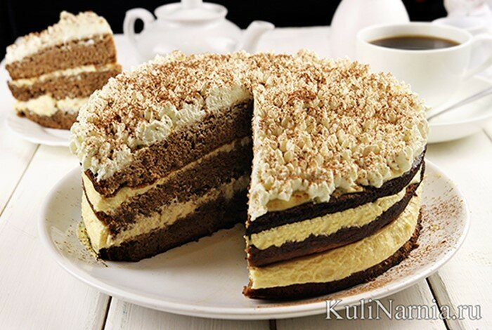 Торт по мотивам «Тирамису»   вкусный рецепт дома!