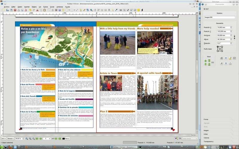 Бесплатная программа Scribus для верстки полиграфии