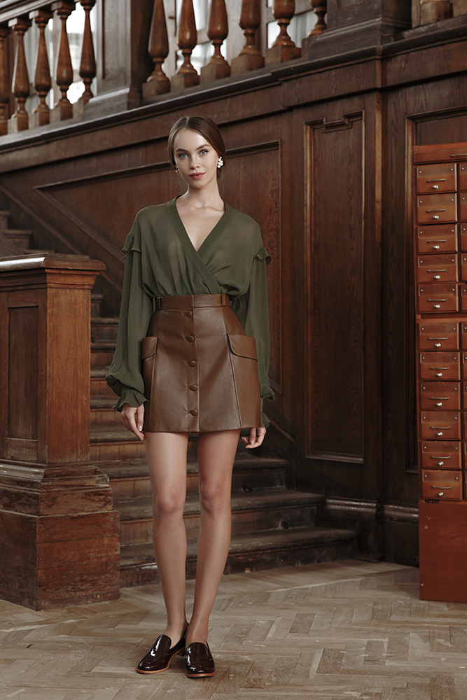 Ulyana Sergeenko Demi-Couture осень-зима 2016
