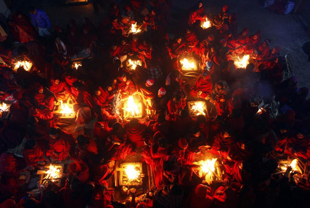 4. А это еще один праздник — фестиваль Индра Джатра, он отмечает конец сезона муссона в Непале.