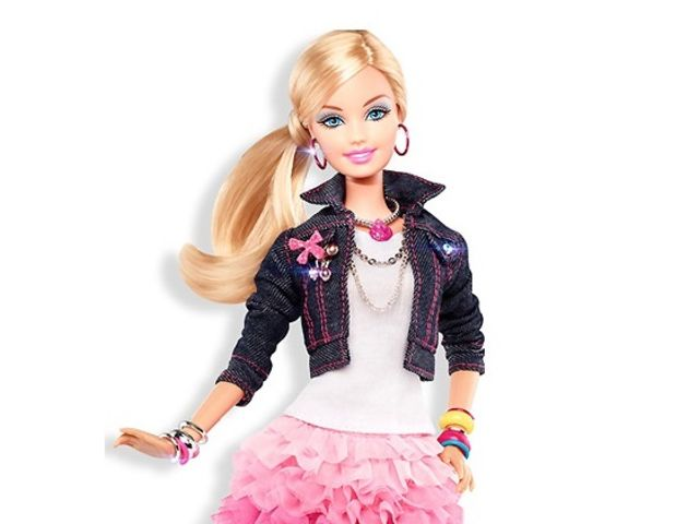 Кукла Барби сейчас.