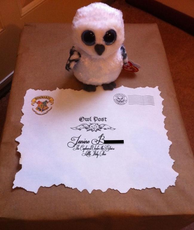 Один мужчина подглядел идею для подарка вкнигах оГарри Поттере. Ивот что получилось (12 фото)