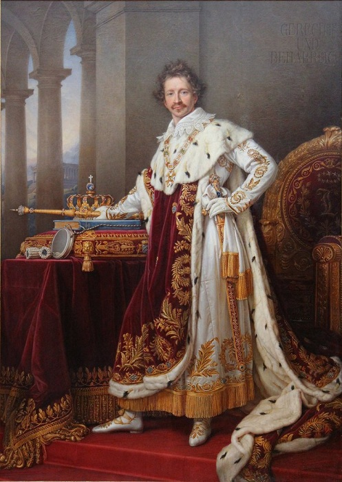 Портрет Людвига І Баварского Министры поставили королю ультиматум: или он высылает Лолу из ст
