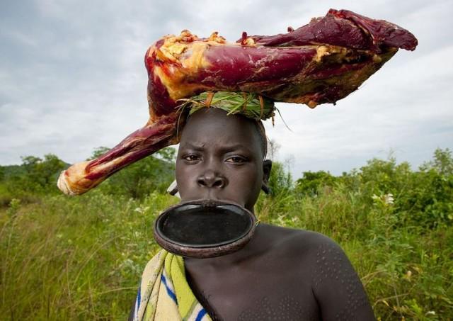 Личная жизнь в самобытной культуре племени мурси