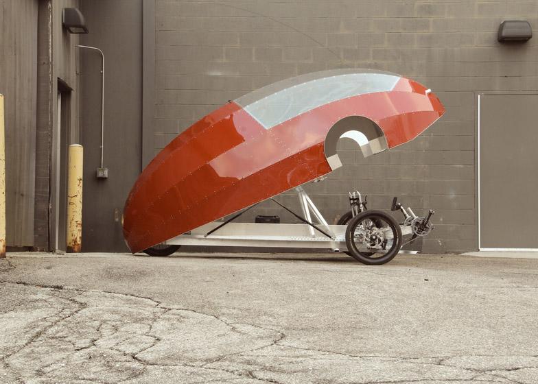 4. Дизайнер этого вида транспорта Камерон Ван Дайк надеется, что своим изобретением заставит людей з