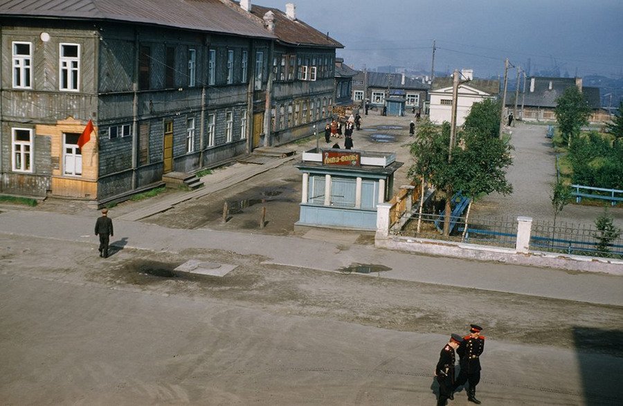 В доме американского атташе нашёлся архив цветных советских фотографий 1950-х годов (12 фото)